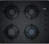 Siemens EO6B6PB10 Ingebouwd Gas Zwart kookplaat