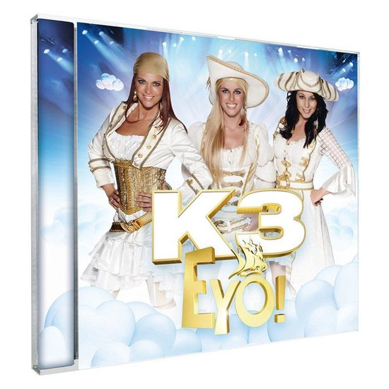 CD cover van Eyo! van K3