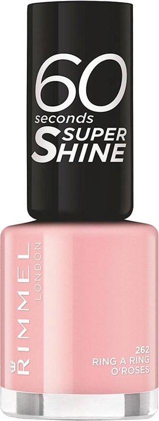 Rimmel London 60 seconds supershine nailpolish - Ring A Ring O Roses - Soft Pink