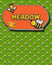 Handwriting Practice 120 Page Honey Bee Book Meadow