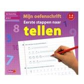 Boek cover Mijn oefenschrift eerste stappen naar tellen (5-6 j.) van Deltas
