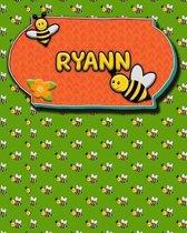 Handwriting Practice 120 Page Honey Bee Book Ryann