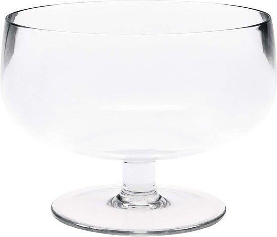 Zak! Designs ijsschaaltje Drinkwaren Stacky 10 cm Transparant