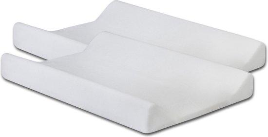 Jollein Waskussenhoes badstof 50x70cm white (2pack)