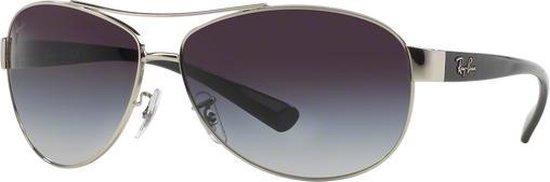 Ray-Ban RB3386 003/8G - zonnebril - Zilver-Zwart / Grijs Gradiënt - 67mm