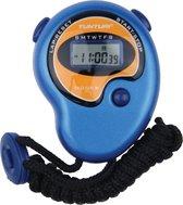 Tunturi Basis - Stopwatch - Digitale Stopwatch - Sport stopwatch - Blauw
