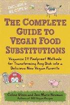 Boekomslag van 'The Complete Guide to Vegan Food Substitutions'