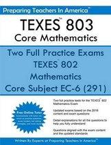 TEXES? 802 Core Mathematics