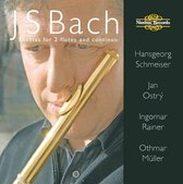 Bach: Sonatas For 2 Flutes And Cont
