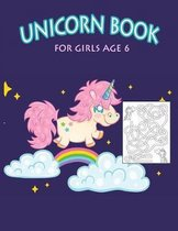 Unicorn Book for Girls Age 6