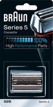 Braun Series 5 52S Cassette Zwart - Vervangend Scheerblad
