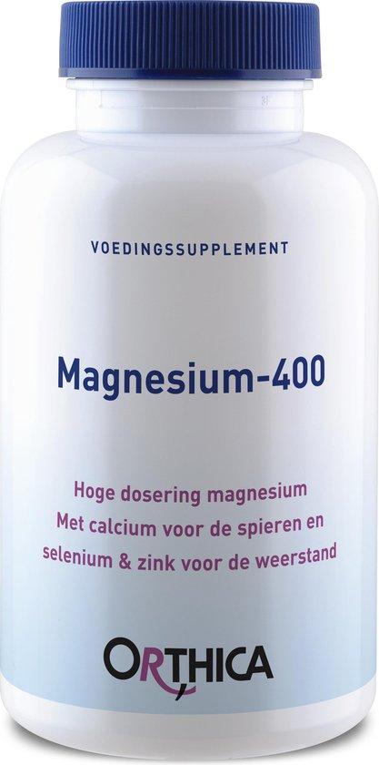 Orthica Magnesium 400 Mineralen Voedingssupplement - 120 Tabletten
