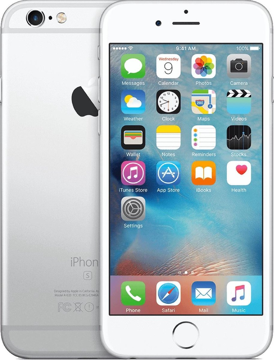 Refurbished Apple iPhone 6S 128GB Wit   Licht gebruikt   B grade