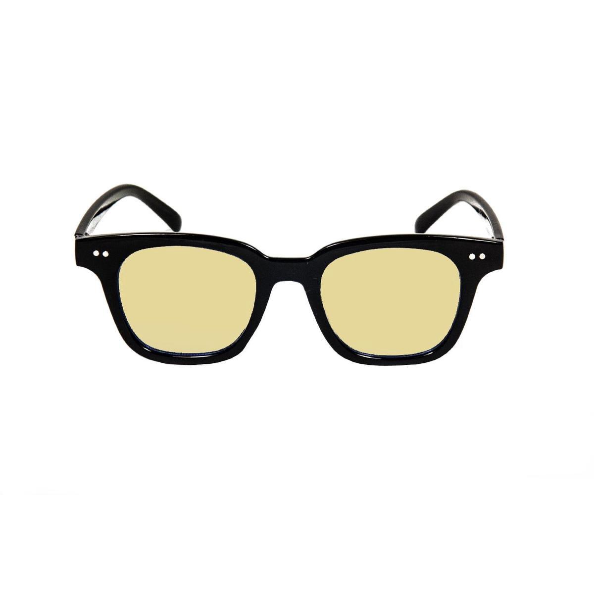 Ocean Sunglasses - SOHO - Unisex Zonnebril Zwart - Ocean Sunglasses