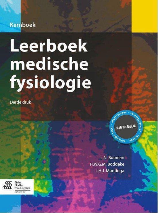Leerboek medische fysiologie - L N Bouman  