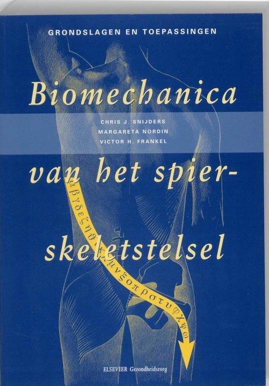 Afbeelding van Biomechanica van het spier-skeletstelsel