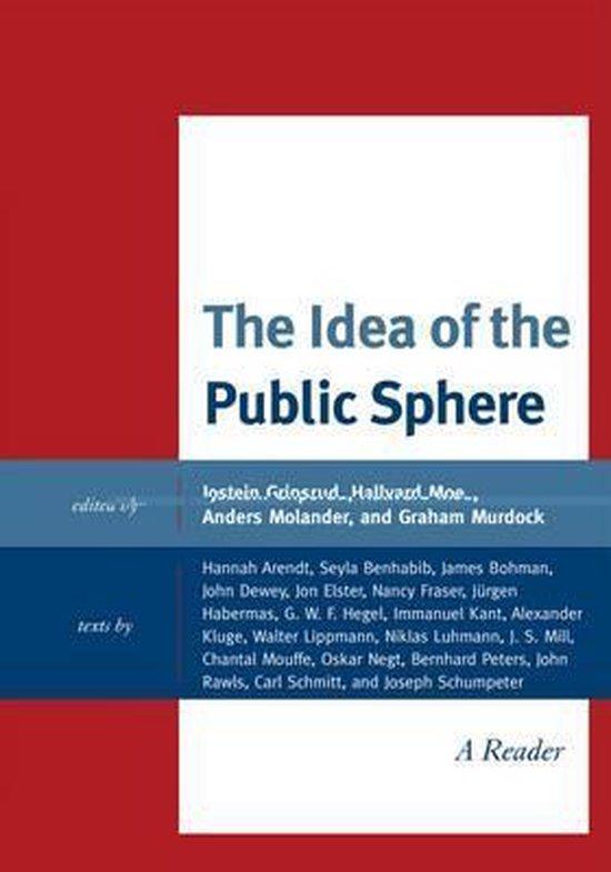 Boek cover The Idea of the Public Sphere van Hannah Arendt (Hardcover)