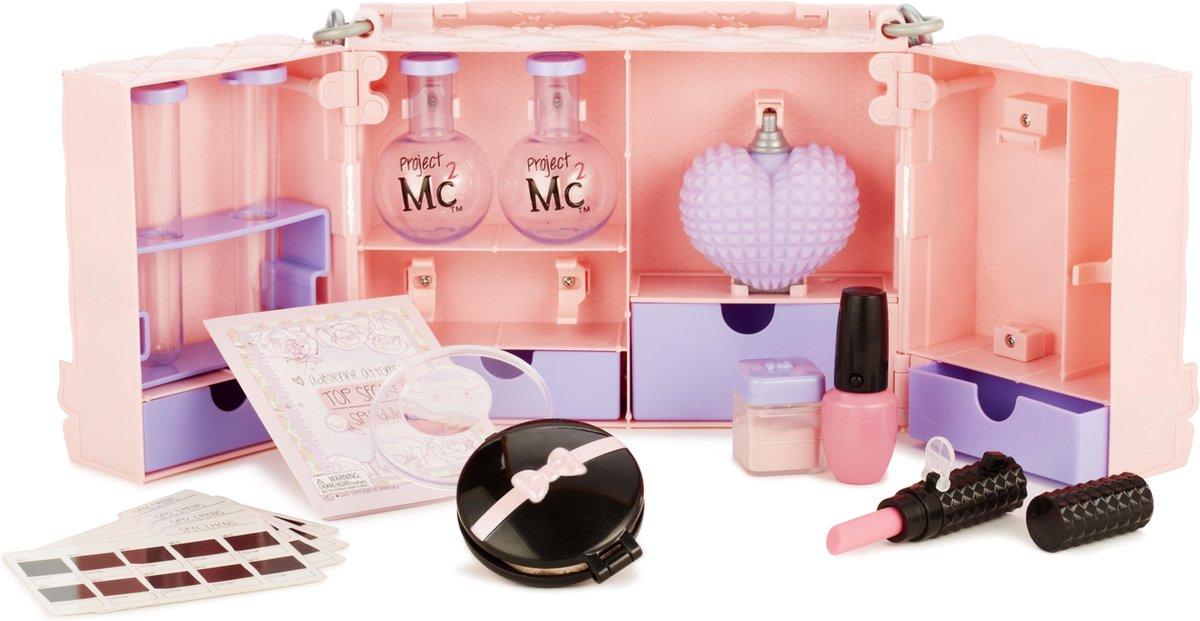 Project Mc2 make up experimenteerset in tas
