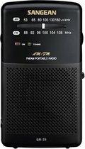 Sangean SR-35 - Draagbare radio - Zwart
