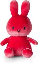 "nijntje Velvet knuffel roze - 23 cm - 9"""