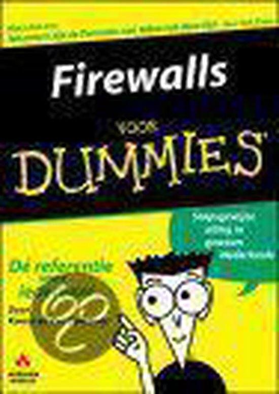 Firewalls voor Dummies - R. Beekelaar |