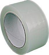 6 rollen - Tape transparant - 48/50mm x 66mtr