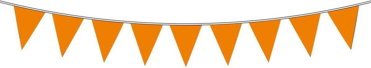 Vlaggenlijn holland oranje: 10 meter (30114) - Vlag (fanshop) - Zwart
