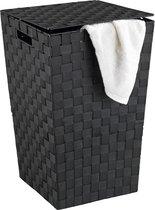 Vierkante Wasmand - 48 L - zwart
