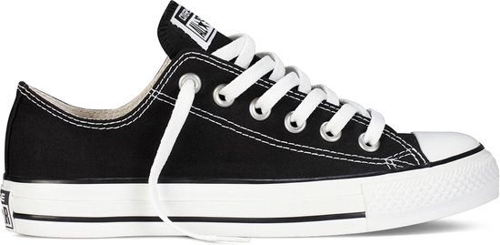 Converse Chuck Taylor All Star Sneakers Laag Unisex - Black  - Maat 38