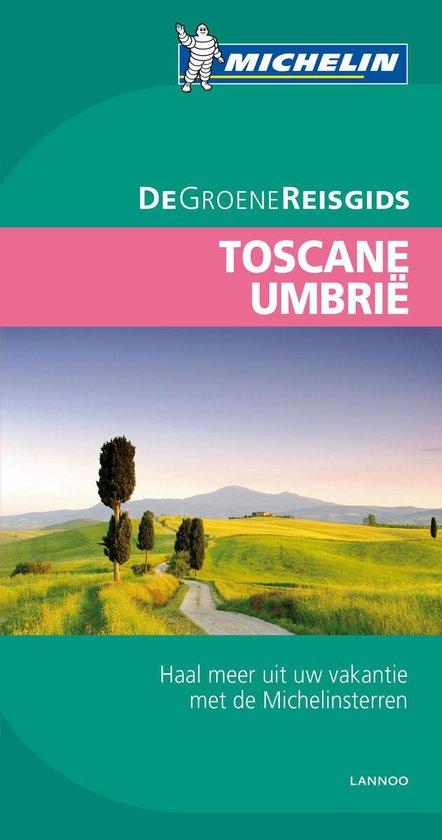 Michelin. Toscane, Umbrië - De Groene Reisgids - Catherine Guégan |