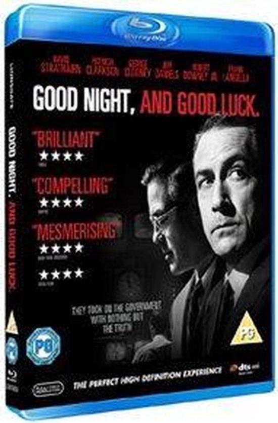 Cover van de film 'Good Night & Good Luck'