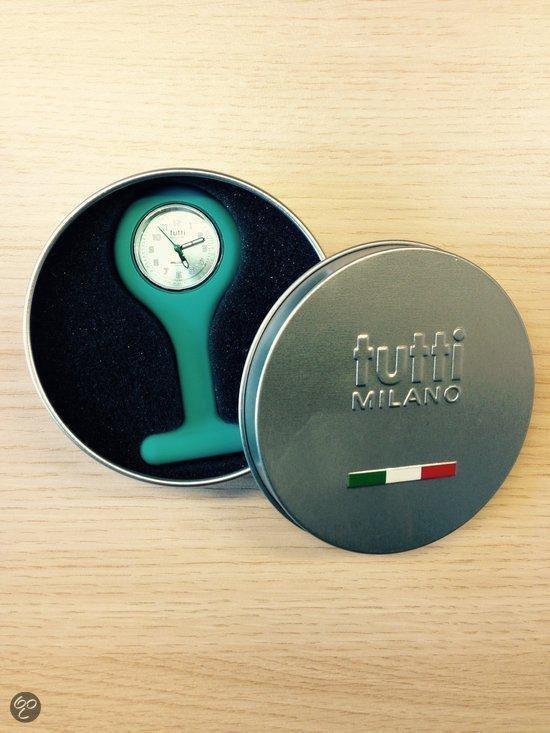 Tutti Milano Verpleegstershorloge - 27 mm - Zwart - Collectie Oceano Sorella - Tutti Milano
