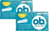 O.B. Tampons ProComfort Normal 64 tampons (2x32)
