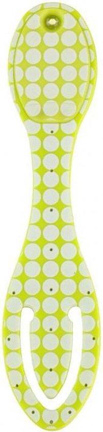 Flexilight Leeslampje - Groen met stippen