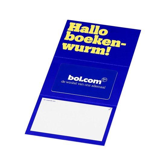 bol.com cadeaukaart - 100 euro - Hallo boekenwurm!