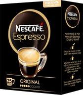 Nescafé Espresso oploskoffie - 6 doosjes à 25 zakjes