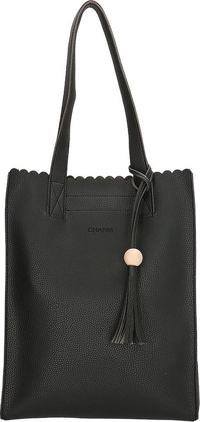 Charm Covent Garden Dames Shopper Zwart