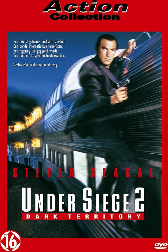 Cover van de film 'Under Siege 2: Dark Territory'
