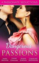 Omslag Dangerous Passions: Dangerous Sanctuary / The Heat Of Passion / Darker Side Of Desire / A Man Of Honour