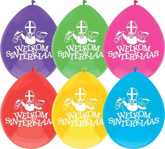 Ballonnen Sinterklaas Multicolor (10ST)