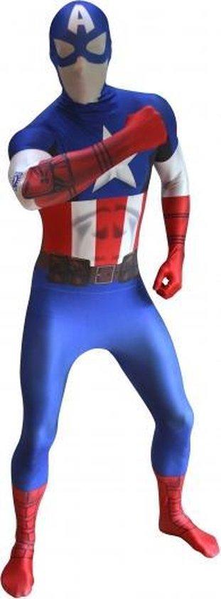 Originele morphsuit Captain America Xl