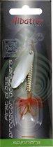 Albatros Spiral Spinner - Bladmaat 4 - Silver