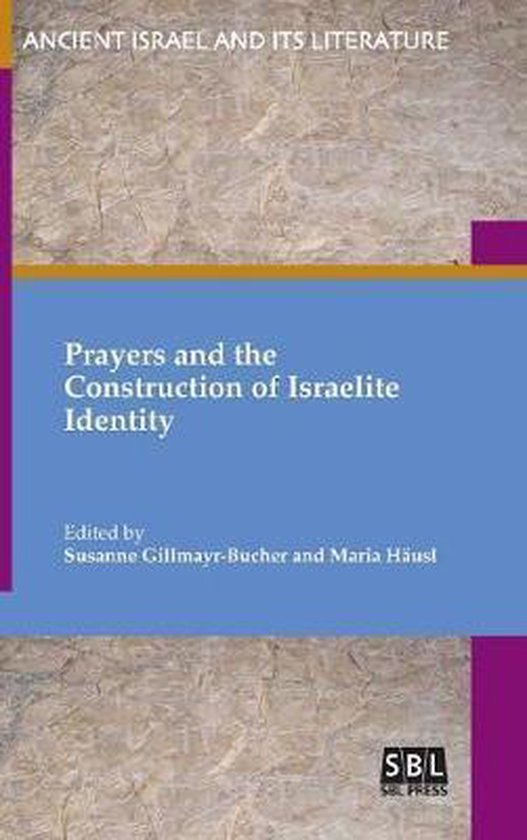 Boek cover Prayers and the Construction of Israelite Identity van  (Hardcover)