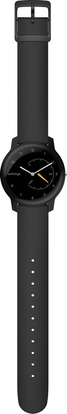 Withings Move - Hybride smartwatch - Zwart/Geel
