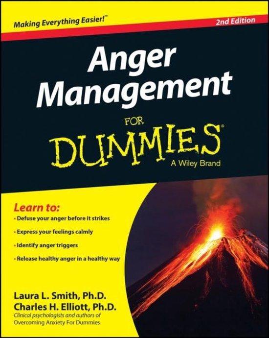 Omslag van Anger Management For Dummies