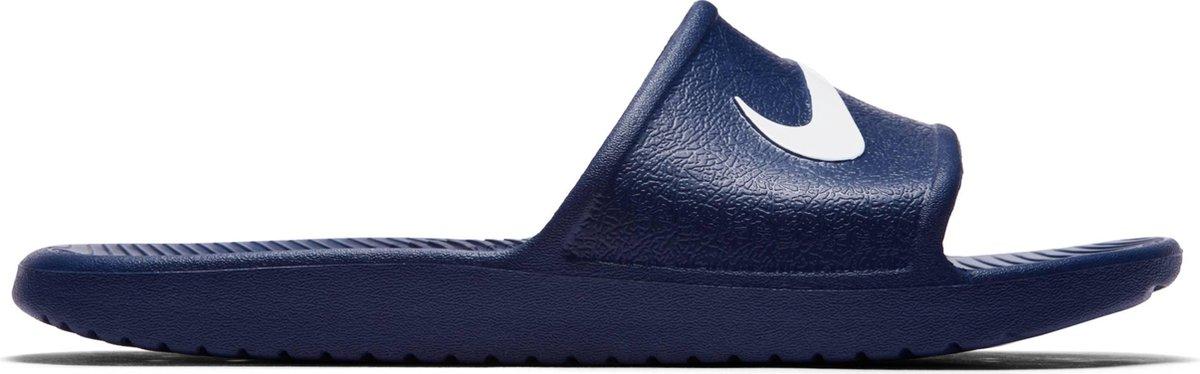 Nike Kawa Shower Slippers Heren - Midnight Navy/White