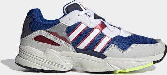 adidas Yung-96 Heren Sneakers - Collegiate Royal/Ftwr White/Collegiate Navy  - Maat