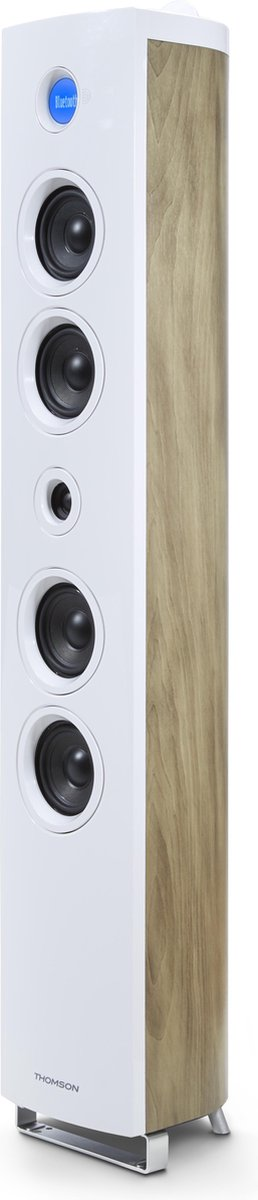 Thomson DS301 home audio set Home audio tower system Wit 180 W