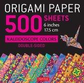 Origami Paper 500 Sheets Kaleidoscope Patterns 6'' (15 CM)