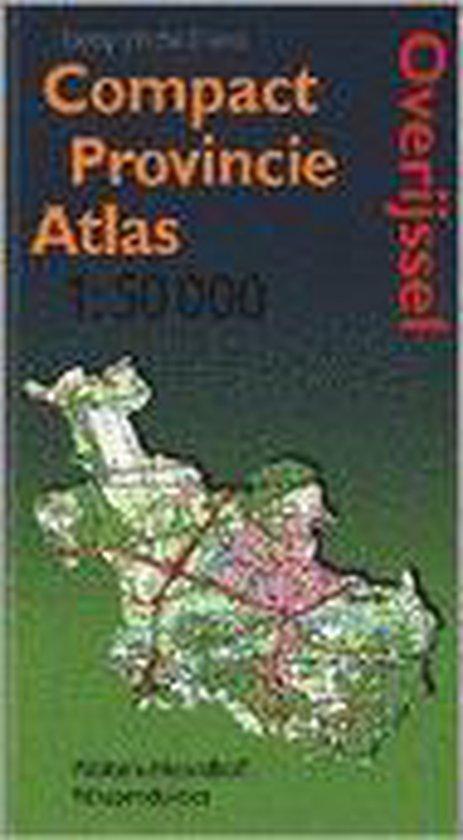 Compact Provincie Atlas Overijssel - Topografische Dienst |